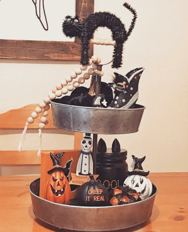 Creeping it real with some amazing Farmhouse Halloween Decor ideas!