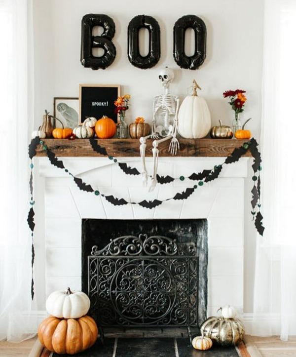 Halloween Home Decor Pinterest: Farmhouse Halloween Decor