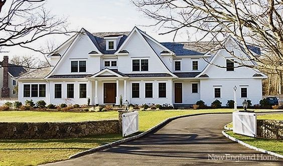 Beautiful Home Exteriors Farmhouses Cottages Charming Homes
