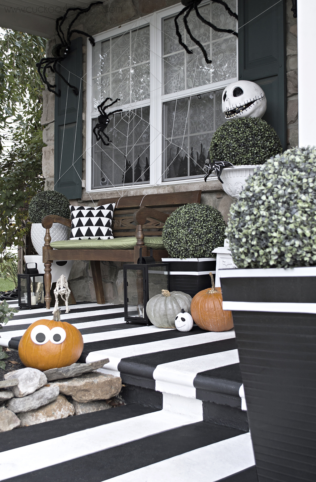 Halloween Front Porch Inspiration Tons Of Amazing Ideas