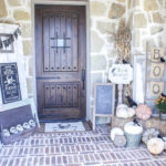 Our Halloween Front Porch: Skeletons, Pumpkins, Crows….oh my!