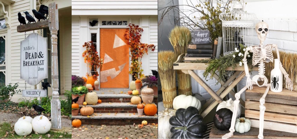 Halloween Front Porch Inspiration