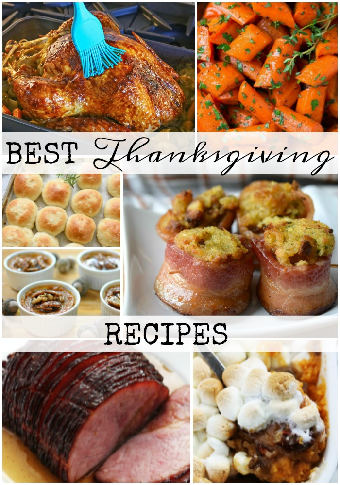 Add some of these Best Thanksgiving Recipes to your menu this year!