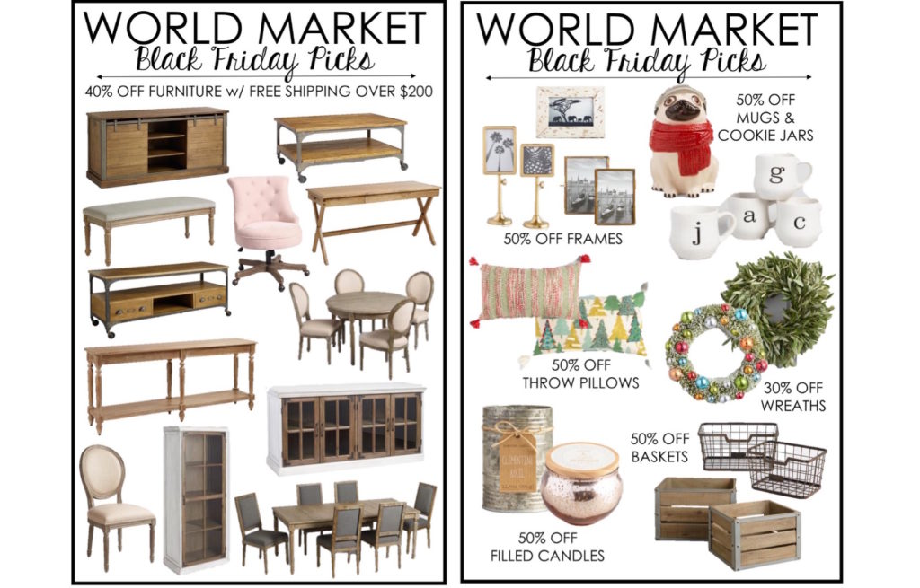 Black Friday Shopping Guide-World Market