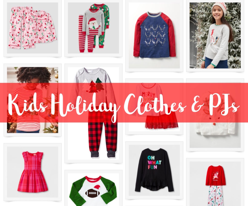 Kids Holiday clothes and Pjs