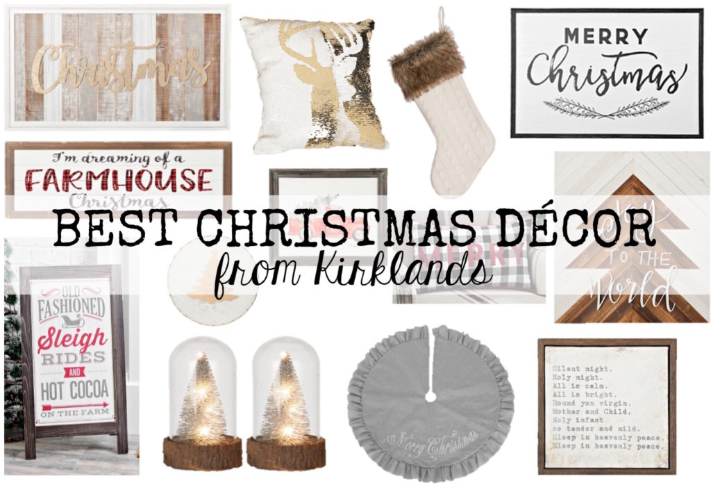 Best Christmas Decor From Kirklands: Cute & Affordable