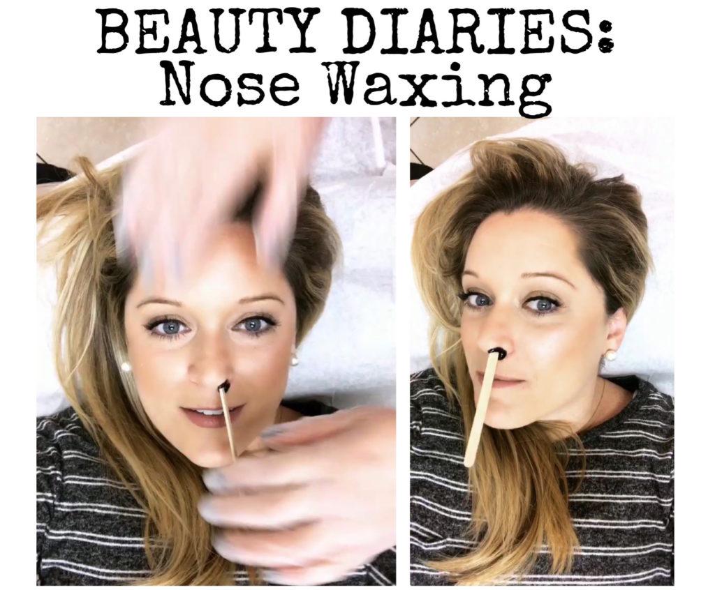 Beauty Diaries: Nose Waxing
