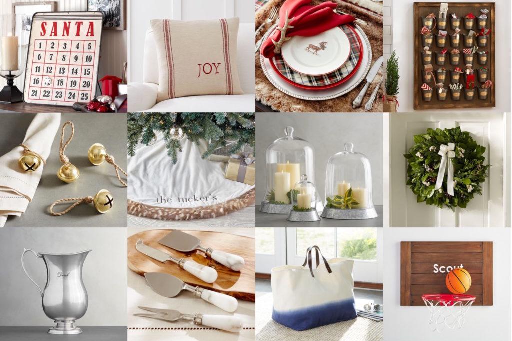 Holiday Decor & Gift Ideas: Pottery Barn Edition