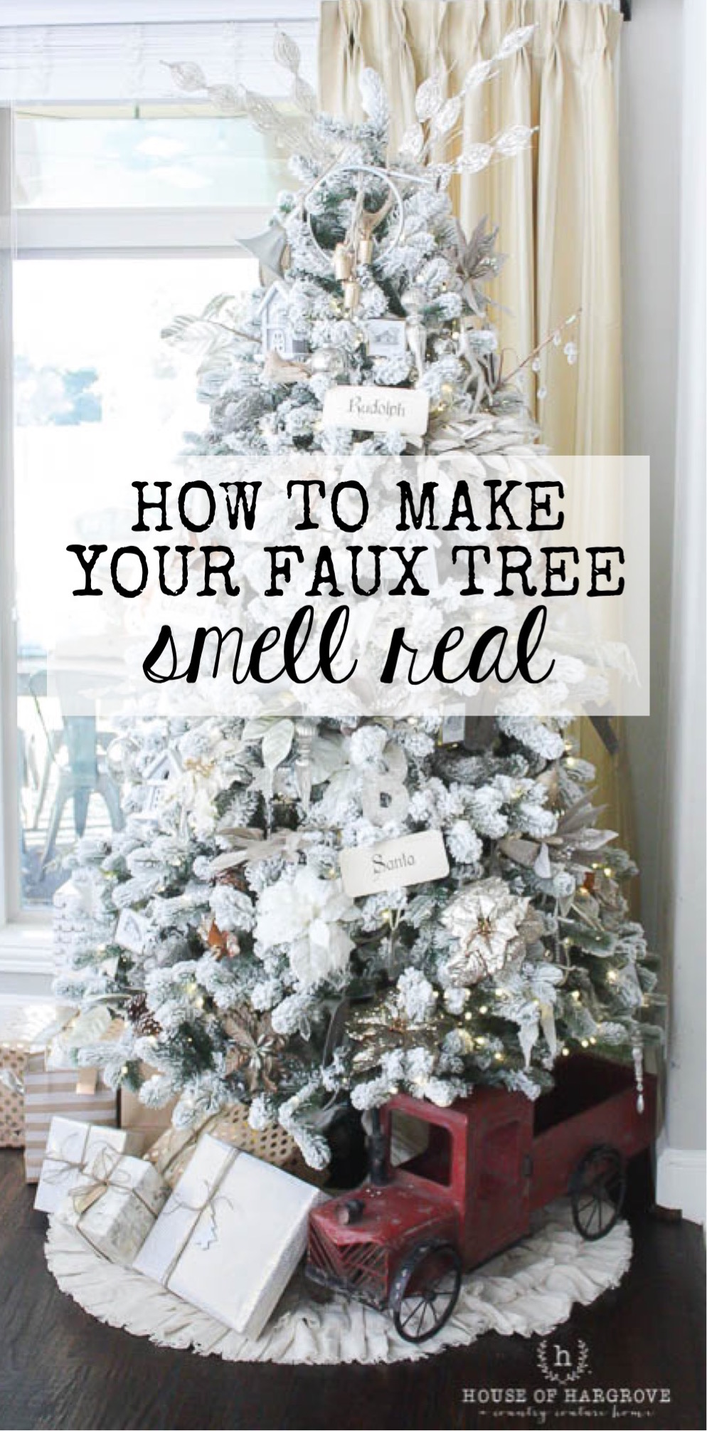 Tricks for the Perfect Christmas Tree. Looks, Lights, Scents