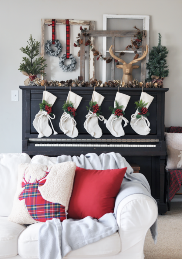 Check out our blog for ideas of fabulous Farmhouse Christmas Decor!