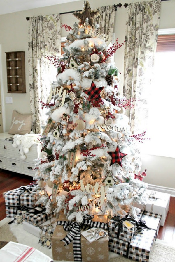 check out all the ideas for fabulous farmhouse christmas decor