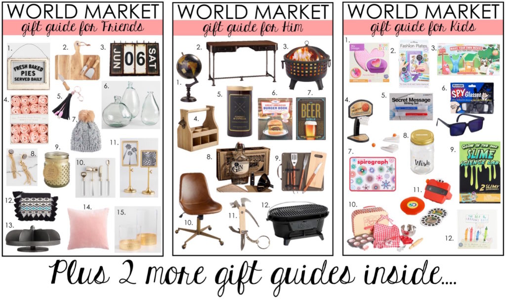 Complete Gift Guide for Her, Him, Friends & Kids….plus White Elephant Gifts