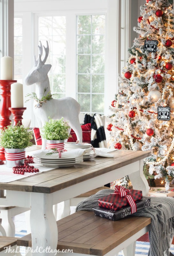 Check out the blog for fabulous Farmhouse Christmas Decor!