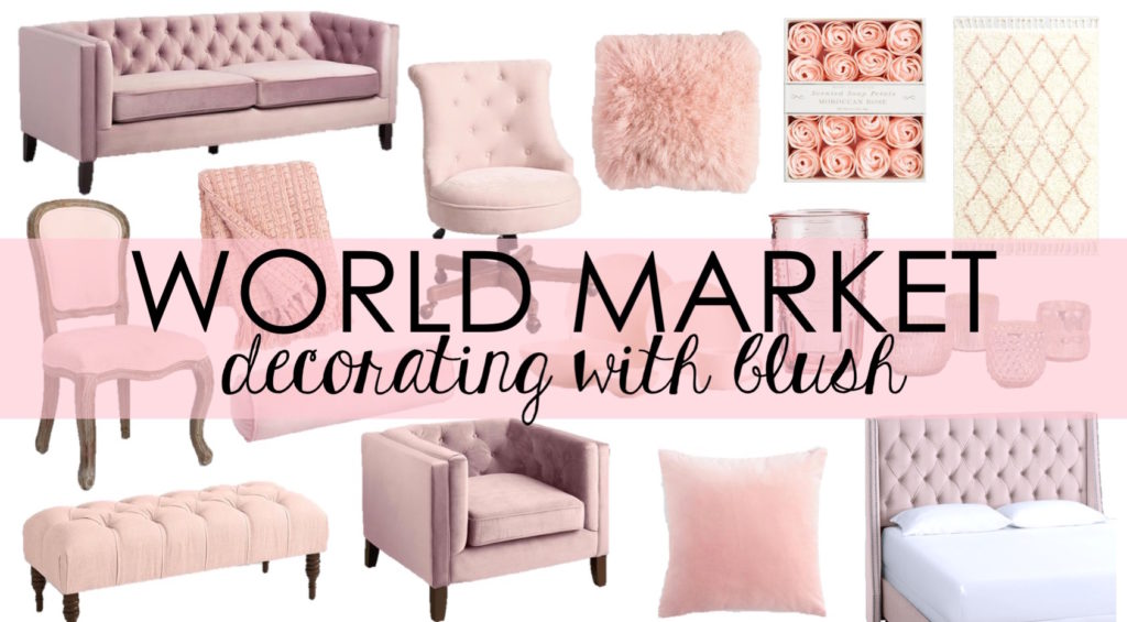 LOVE of Decorating: Adding Pops of Blush to Your Decor
