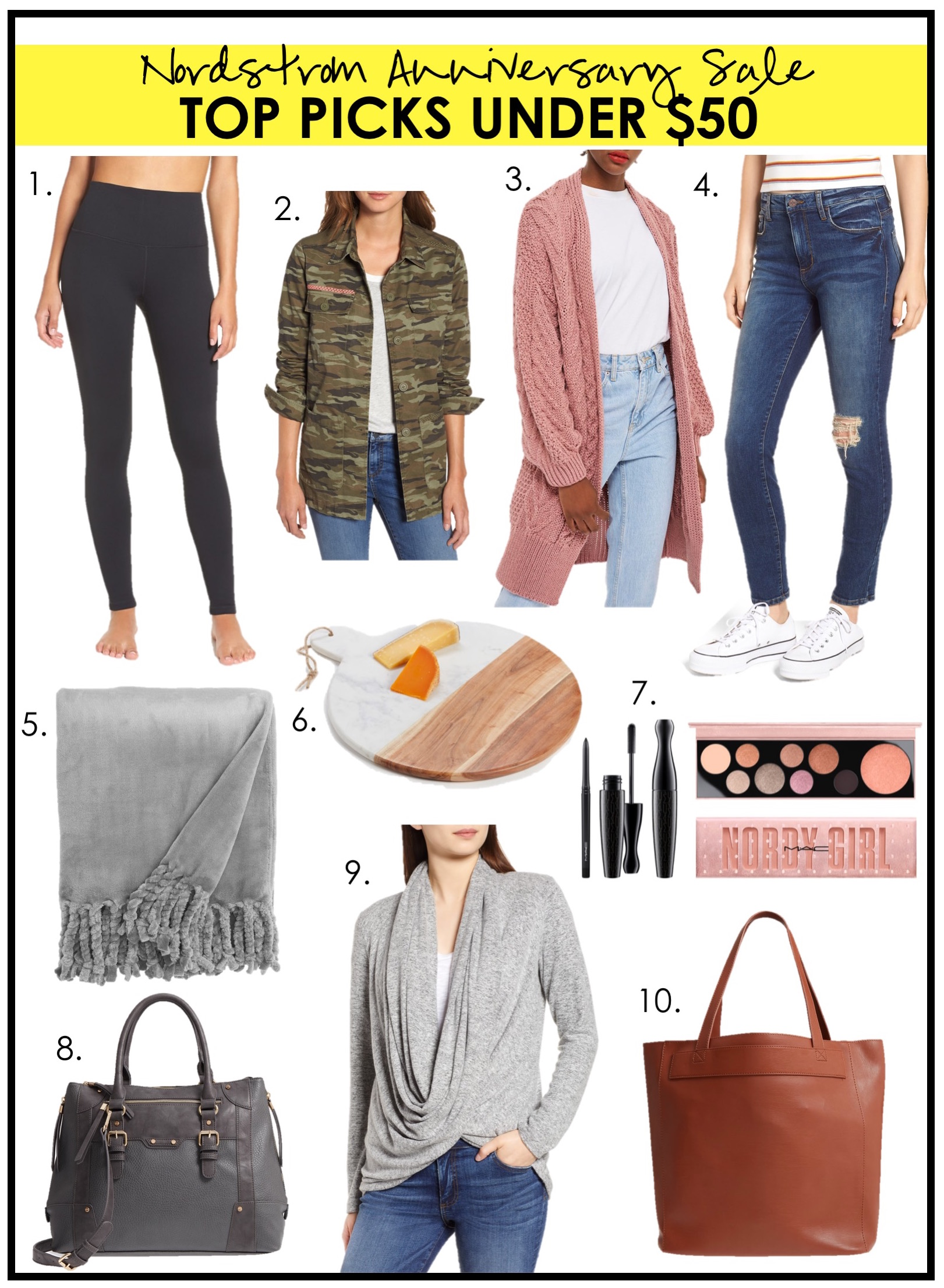 NORDSTROM ANNIVERSARY SALE PICKS: UNDER $25, UNDER $50
