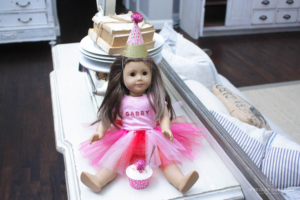 american girl doll birthday party avery s 7th birthday house of